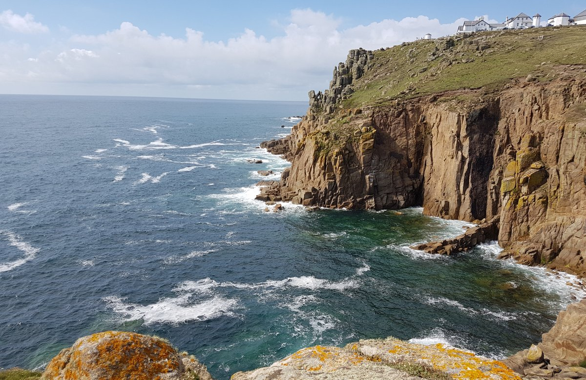 Kuestenblick bei Lands End - Unterwegs in Cornwall