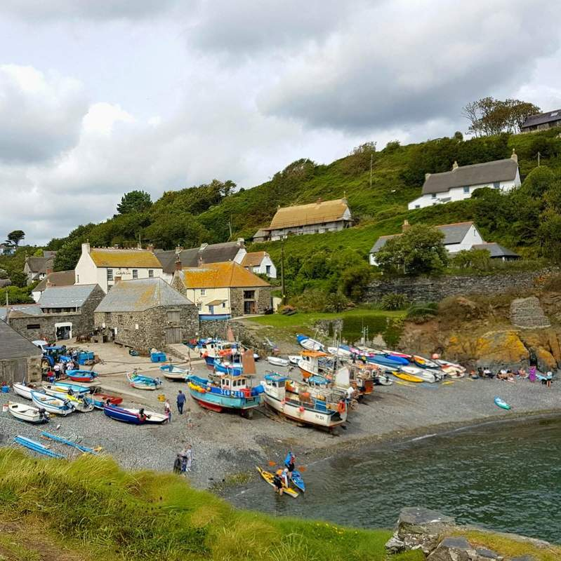 cadgwith hafen cornwall