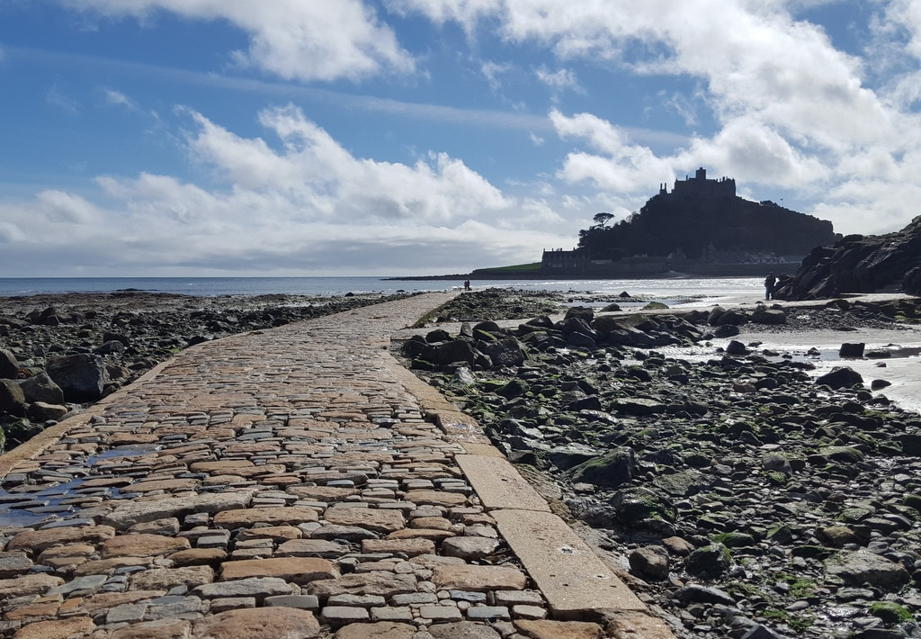 St Michaels Mount Cornwall Suedengland