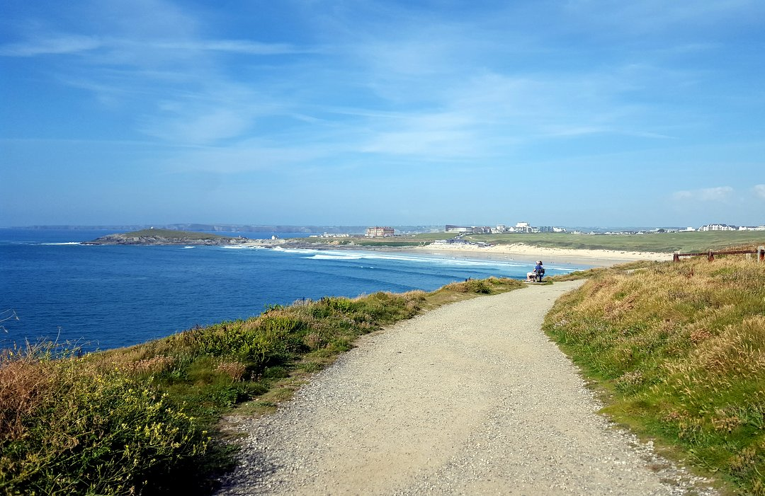 Kuestenweg in Newquay West Pentire